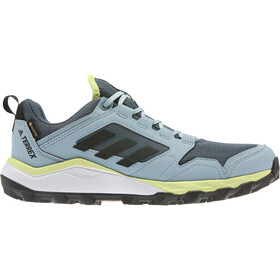 adidas TERREX Agravic TR Gore-Tex Chaussures de trail Femme, legacy blue/core black/yellow tint